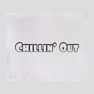 Chillin Out Throw Blanket