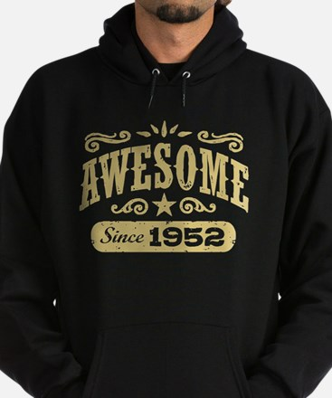 Awesome Since 1952 Hoodie (dark)