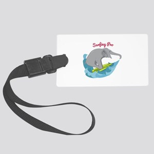 Surfing Pro Luggage Tag