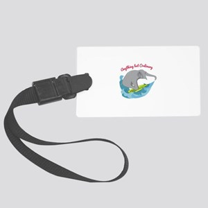 Not Ordinary Luggage Tag