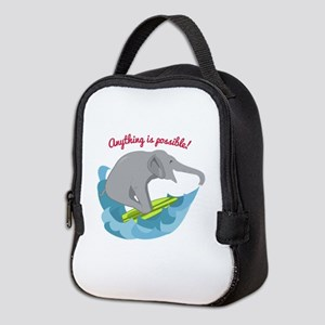 Anything Is Possible Neoprene Lunch Bag