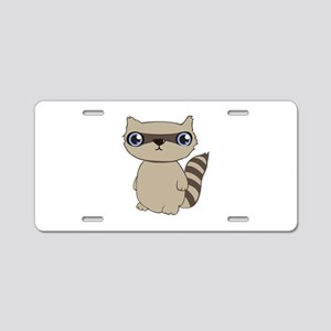 Coon Animal Aluminum License Plate