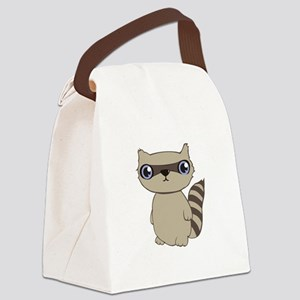 Coon Animal Canvas Lunch Bag