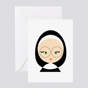 Sister Head Greeting Cards