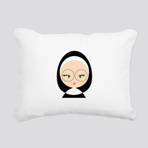 Sister Head Rectangular Canvas Pillow