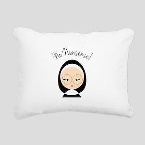 No Nunsense Rectangular Canvas Pillow