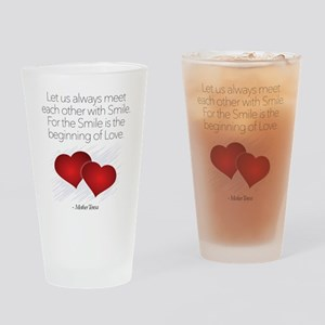 Meet With A Smile - Drinking Glass