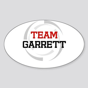 Garrett Oval Sticker
