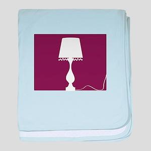 Lamp baby blanket