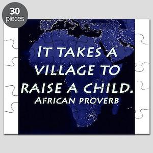 It Takes a Village Puzzle