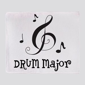 Drum Major Marching Band Throw Blanket