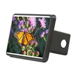 Monarch Butterfly on Purple Milkweed Hitch Cover