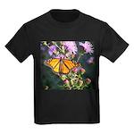 Monarch Butterfly on Purple Milkweed T-Shirt