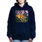 Monarch Butterfly on Purple Milkweed Women's Hoode