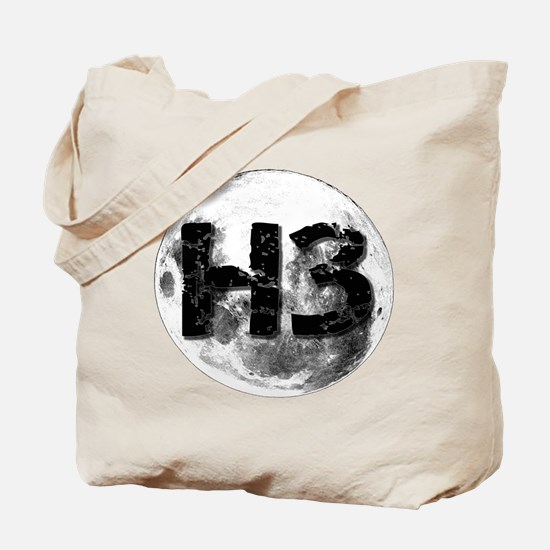 H3 On The Moon Tote Bag
