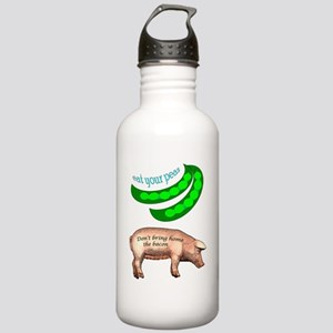 Eat Your Peas Stainless Water Bottle 1.0L