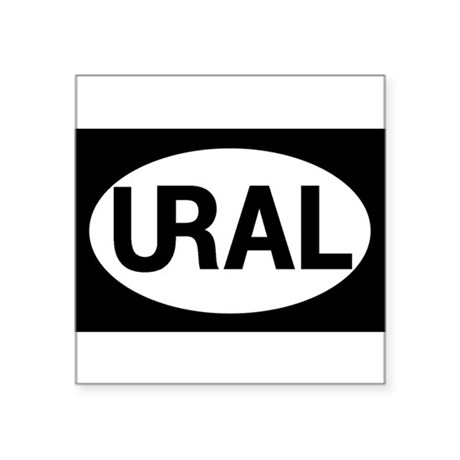 ural_oval Sticker