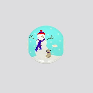 Winter Dreaming Mini Button