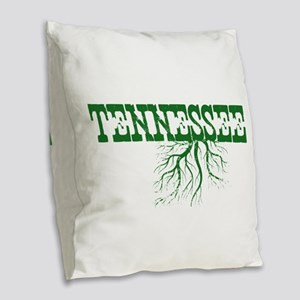Tennessee Roots Burlap Throw Pillow