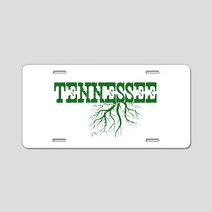 Tennessee Roots Aluminum License Plate