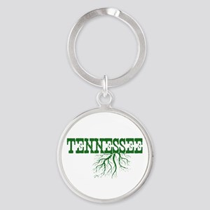Tennessee Roots Round Keychain
