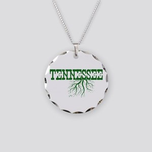 Tennessee Roots Necklace Circle Charm