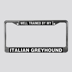Well Trained By My Italian Greyhound