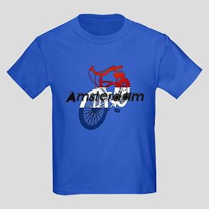 Amsterdam Bicycle Kids Dark T-Shirt