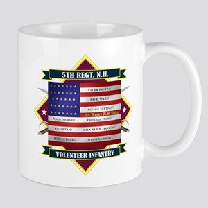 5th New Hampshire Volunteer Infantry Mugs