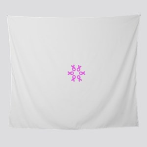 Pink Ribbons Breast Cancer 4Olivia Wall Tapestry