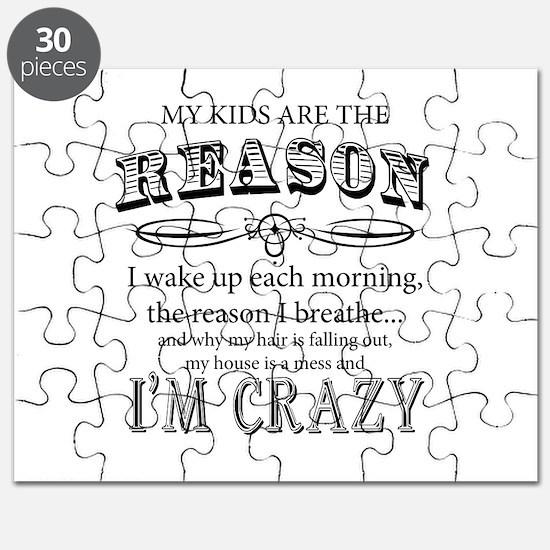 Reason I'm Crazy Puzzle