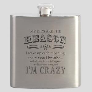 Reason I'm Crazy Flask