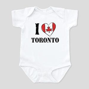 I Love Toronto Infant Bodysuit