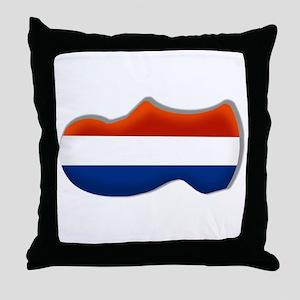 Dutch Clog Throw Pillow