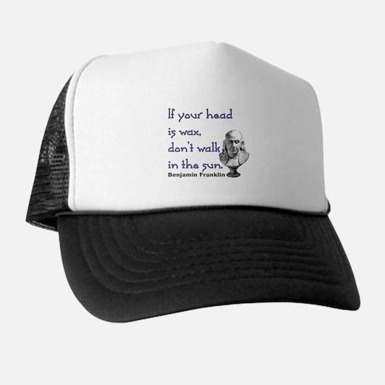 Wax Head: Trucker Hat