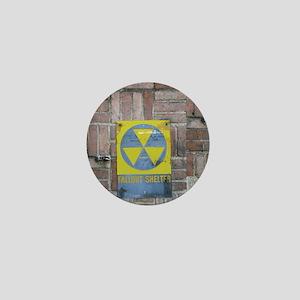 Fallout Shelter Sign Mini Button
