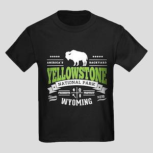 Yellowstone Vintage Kids Dark T-Shirt