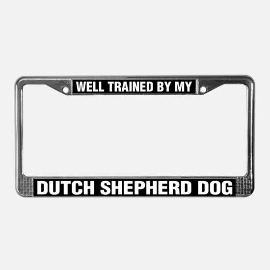 Well Trained By My Dutch Shepherd