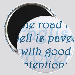 The Road to Hell Magnet