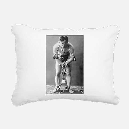 Harry Houdini Rectangular Canvas Pillow
