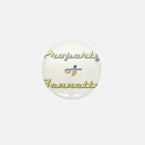 Property Of Jennette Female Mini Button