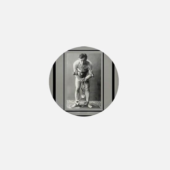 Harry Houdini Mini Button