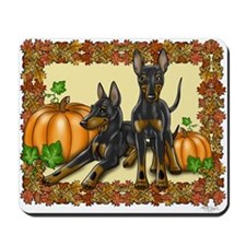 Autumn Toy Manchester Terriers Mousepad