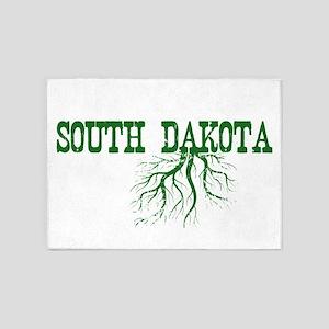 South Dakota Roots 5'x7'Area Rug