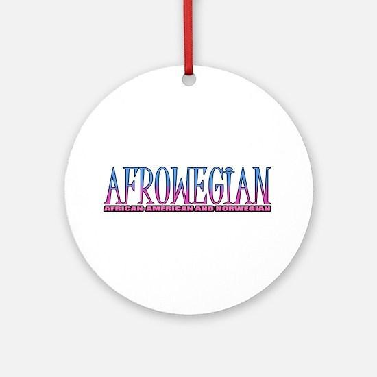 Afrowegian Ornament (Round)