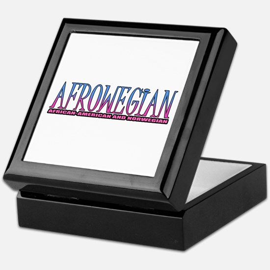 Afrowegian Keepsake Box