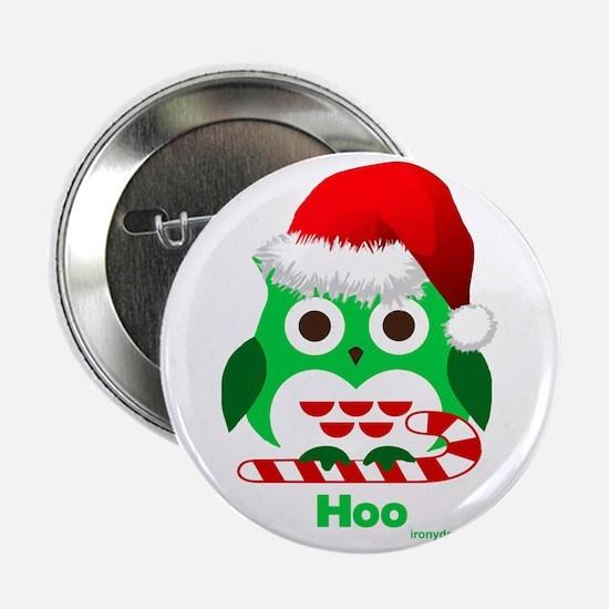 "Cute Owl 2.25"" Button"