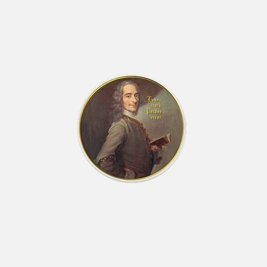 Voltaire Truth Mini Button