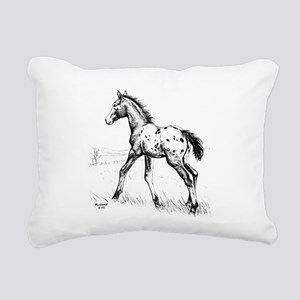 Appaloosa Rectangular Canvas Pillow