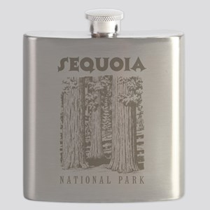 Sequoia National Park Trees Flask